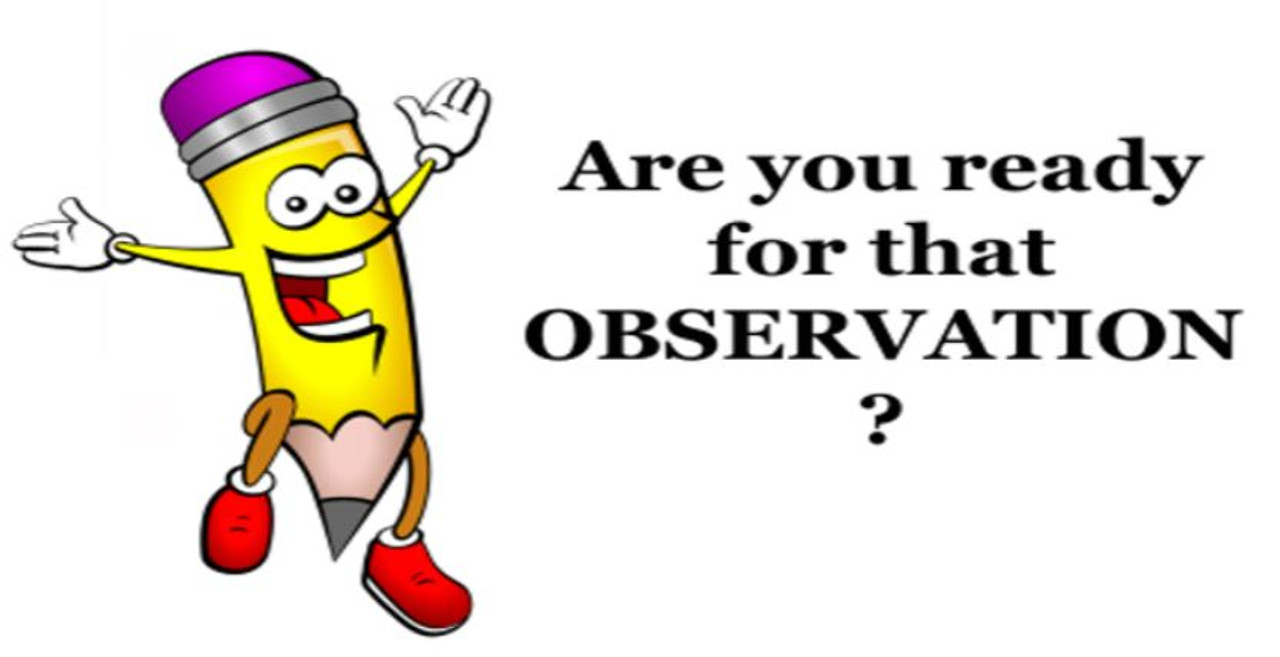 Get OBSERVATION Ready!