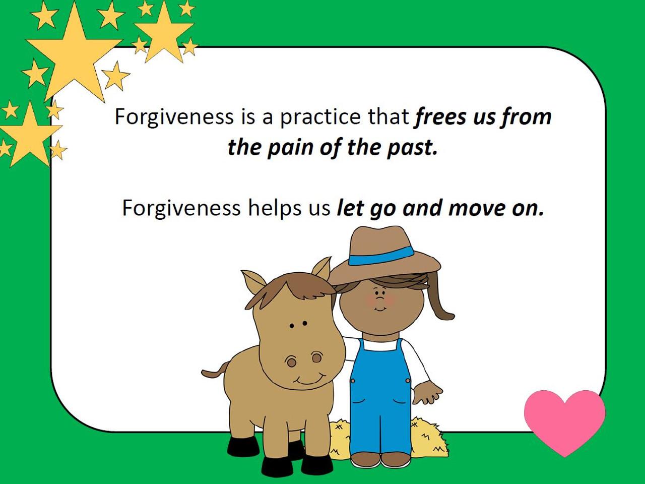 Forgiveness Social Story