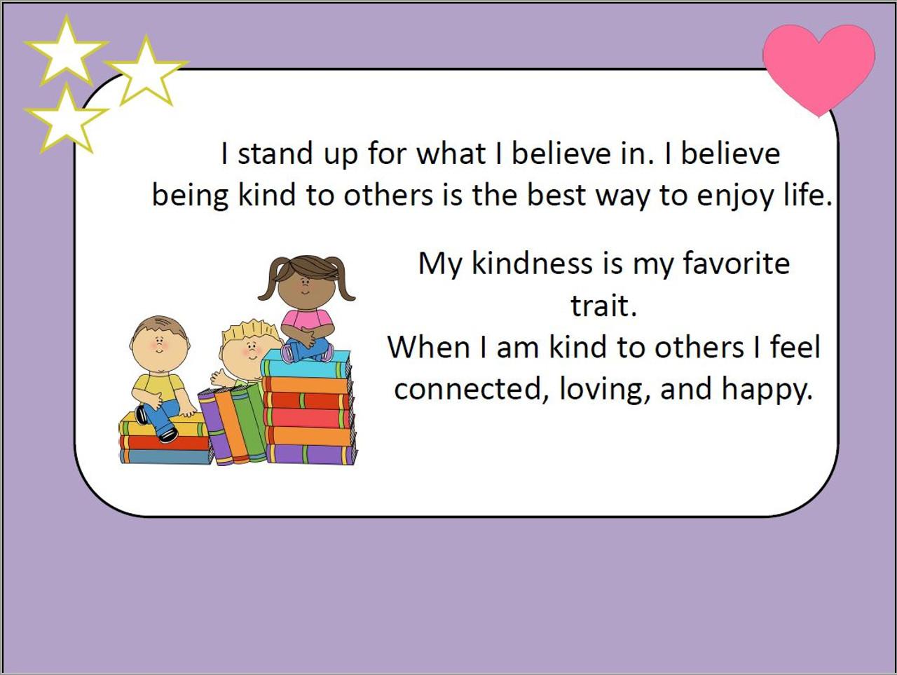 Being Kind