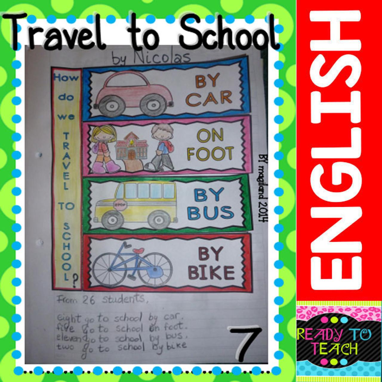 Back to School - 9 INTERACTIVE NOTEBOOK ACTIVITIES in ENGLISH