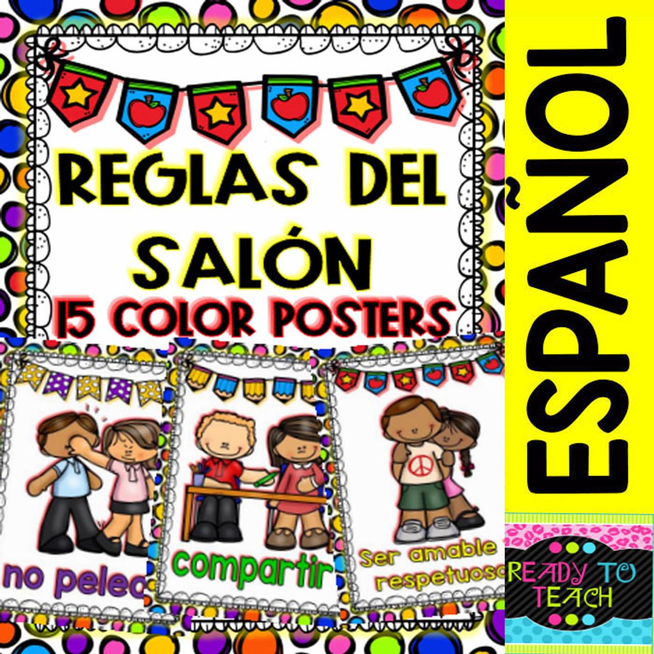 Posters - Reglas del Salon de Clases