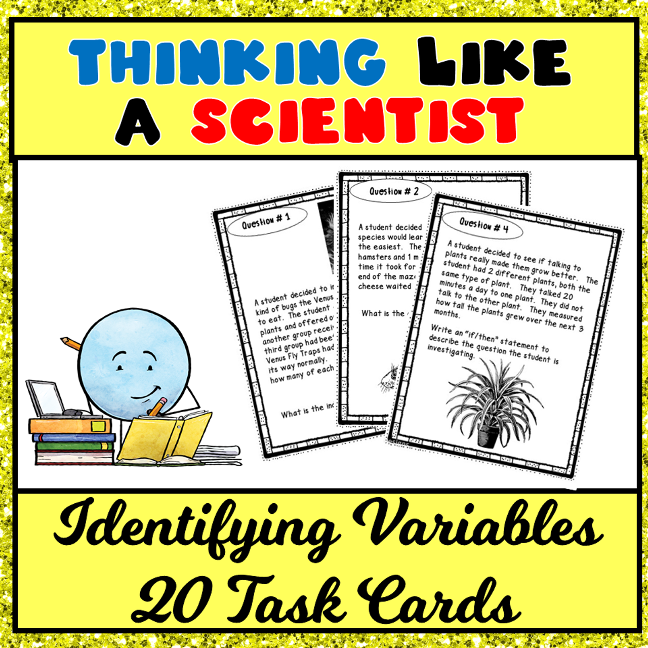 Scientific Method: Thinking Like a Scientist Task Cards