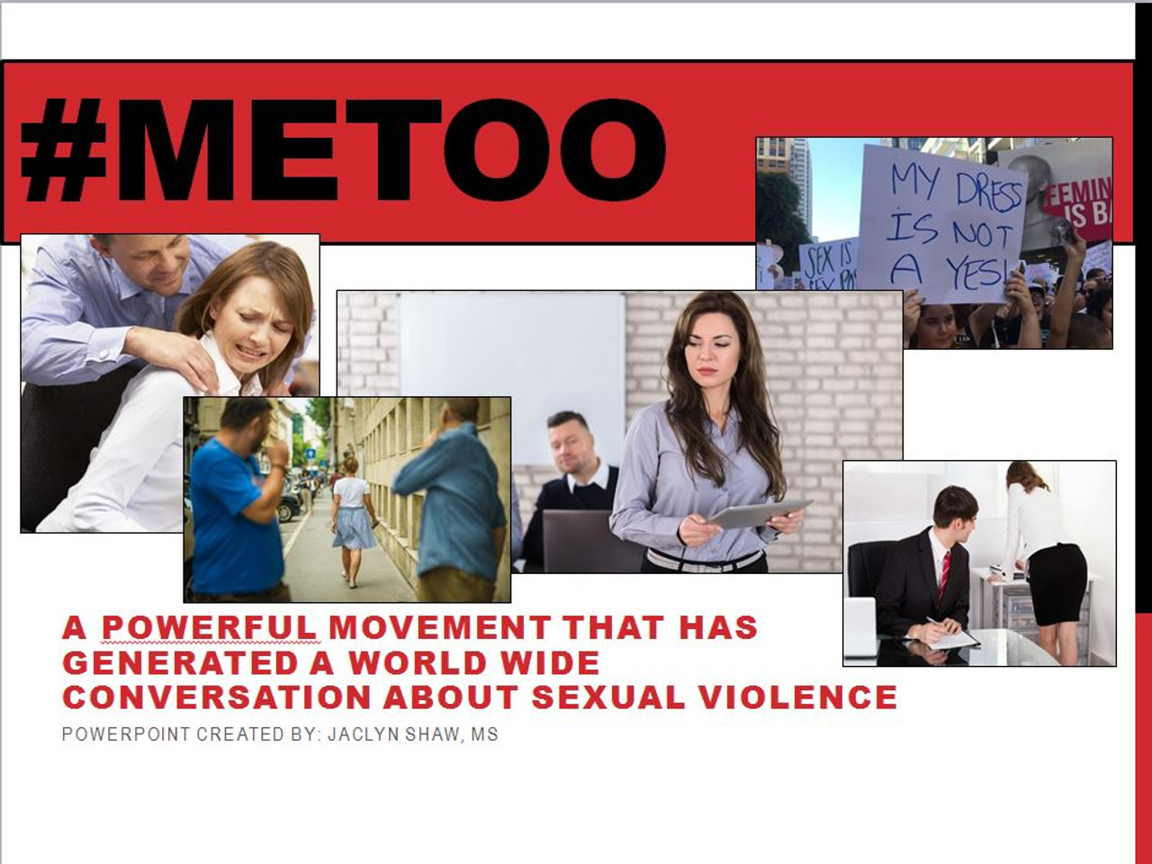#MeToo 59 Page PowerPoint