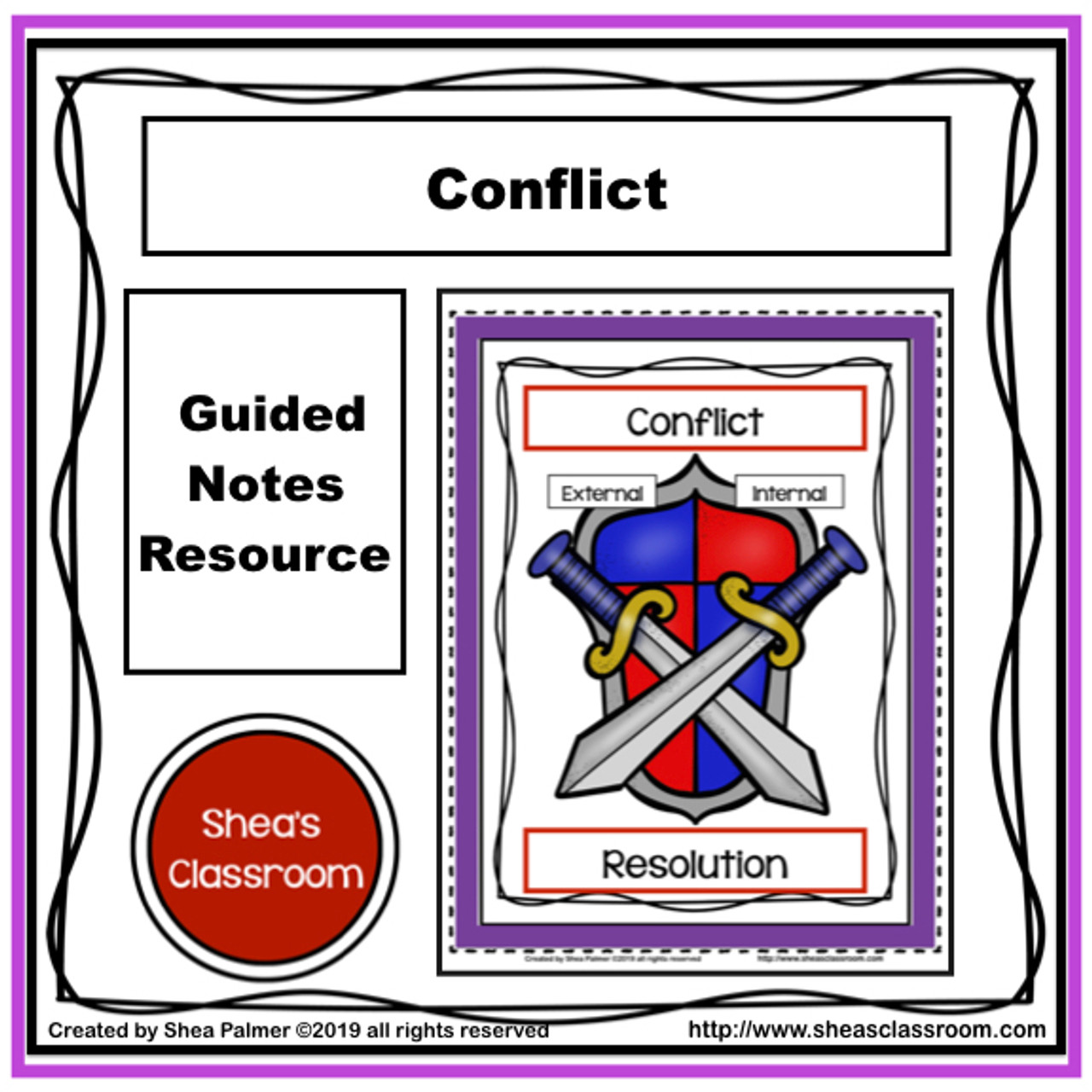 Conflict Guided Notes Resource