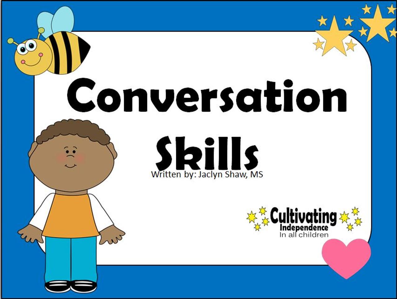 Conversation Skills - Social Story