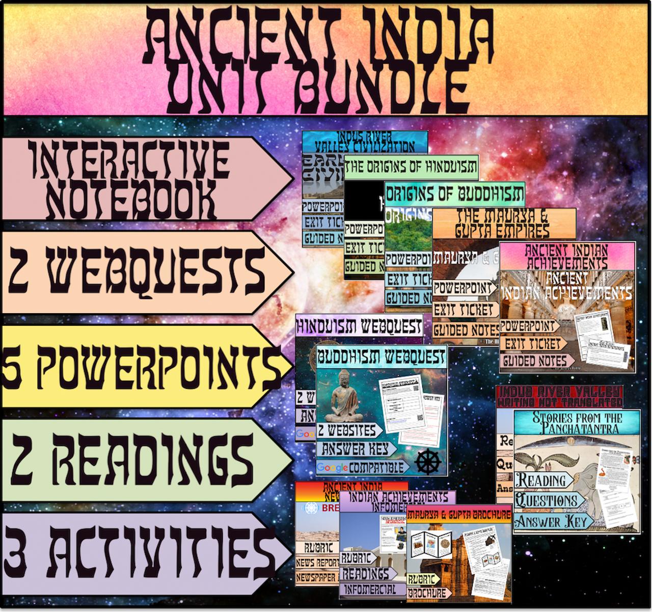 Ancient India Unit Bundle