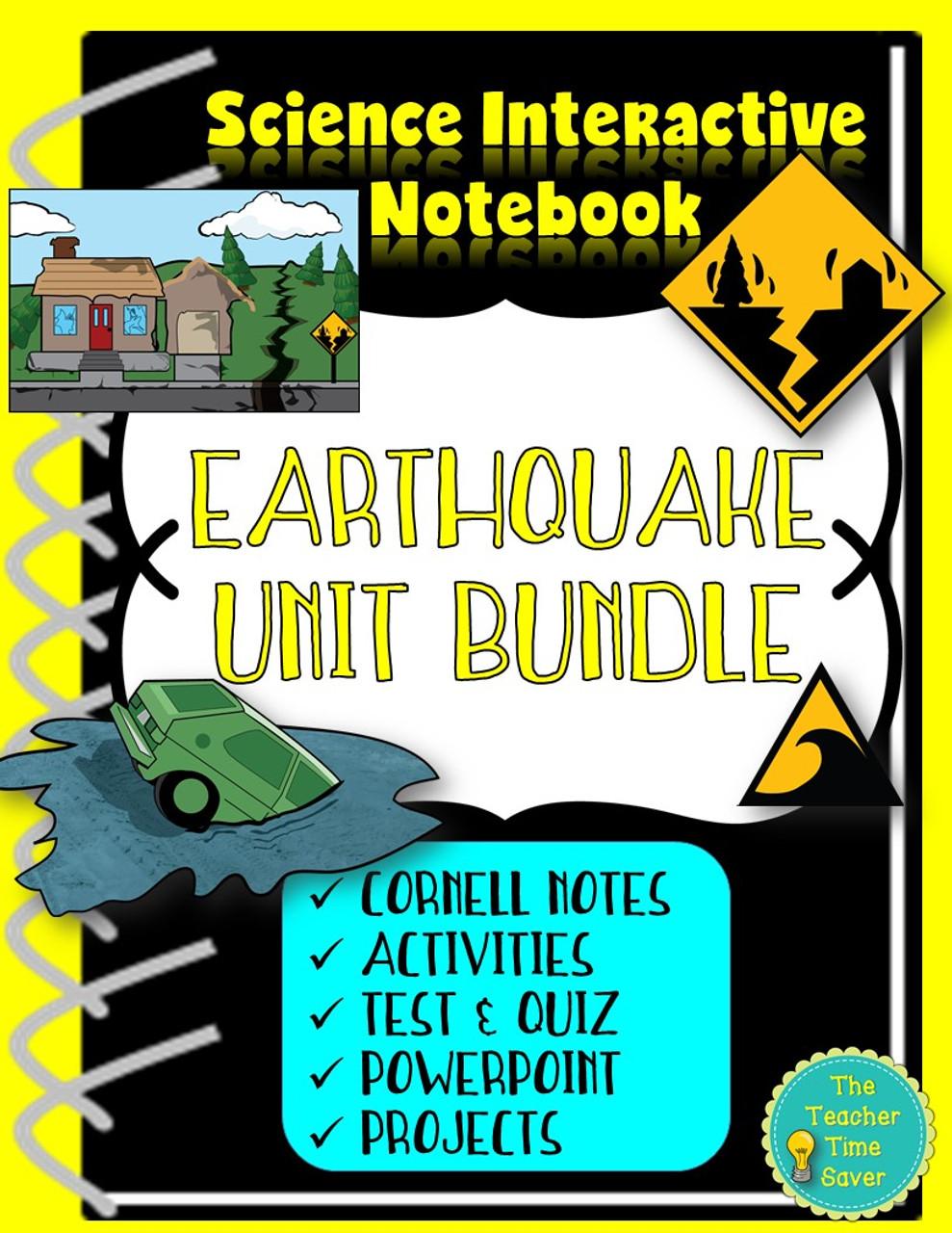 Earthquakes Unit | Earth Science Bundle