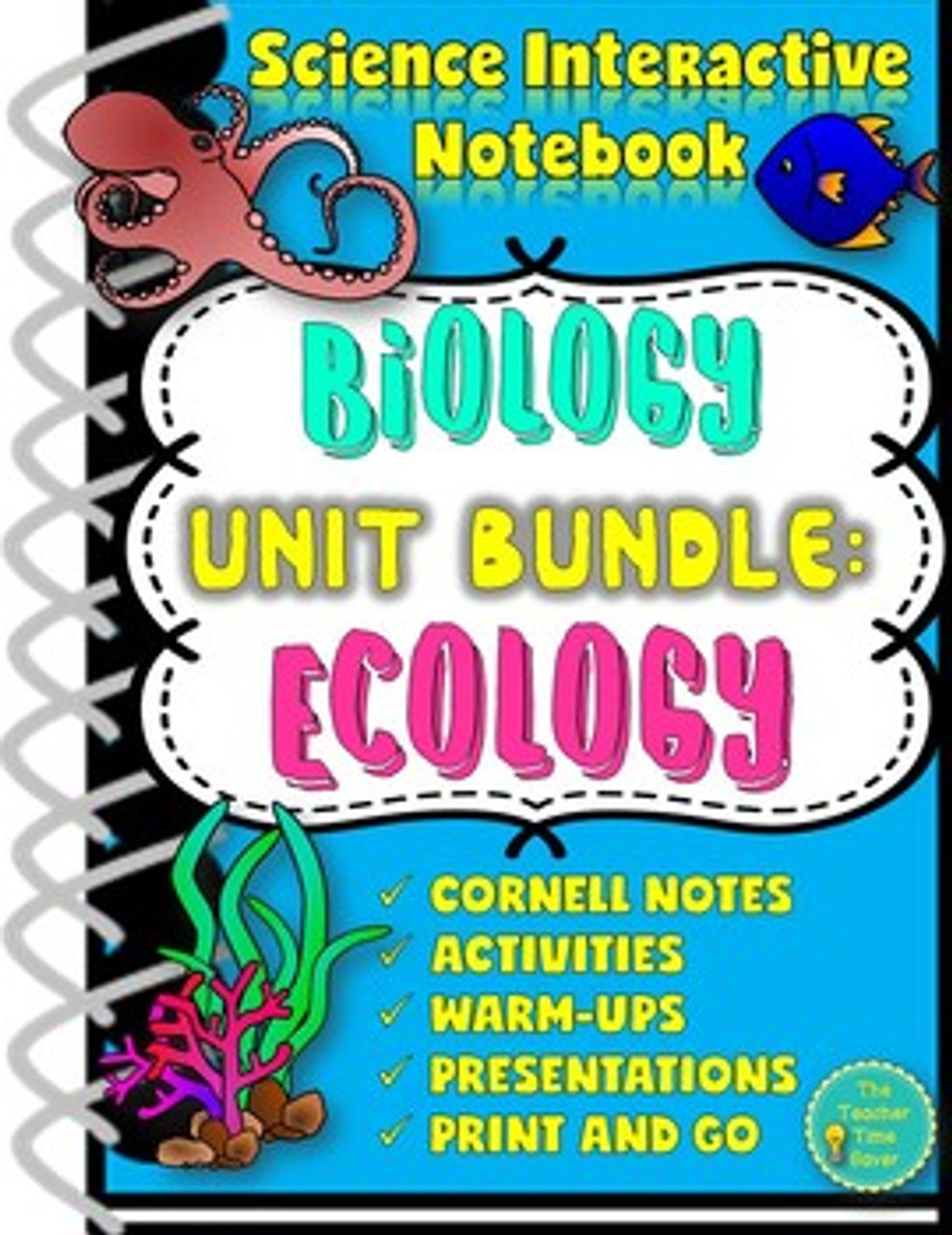 Ecology Test Activity Lesson and Unit Bundle
