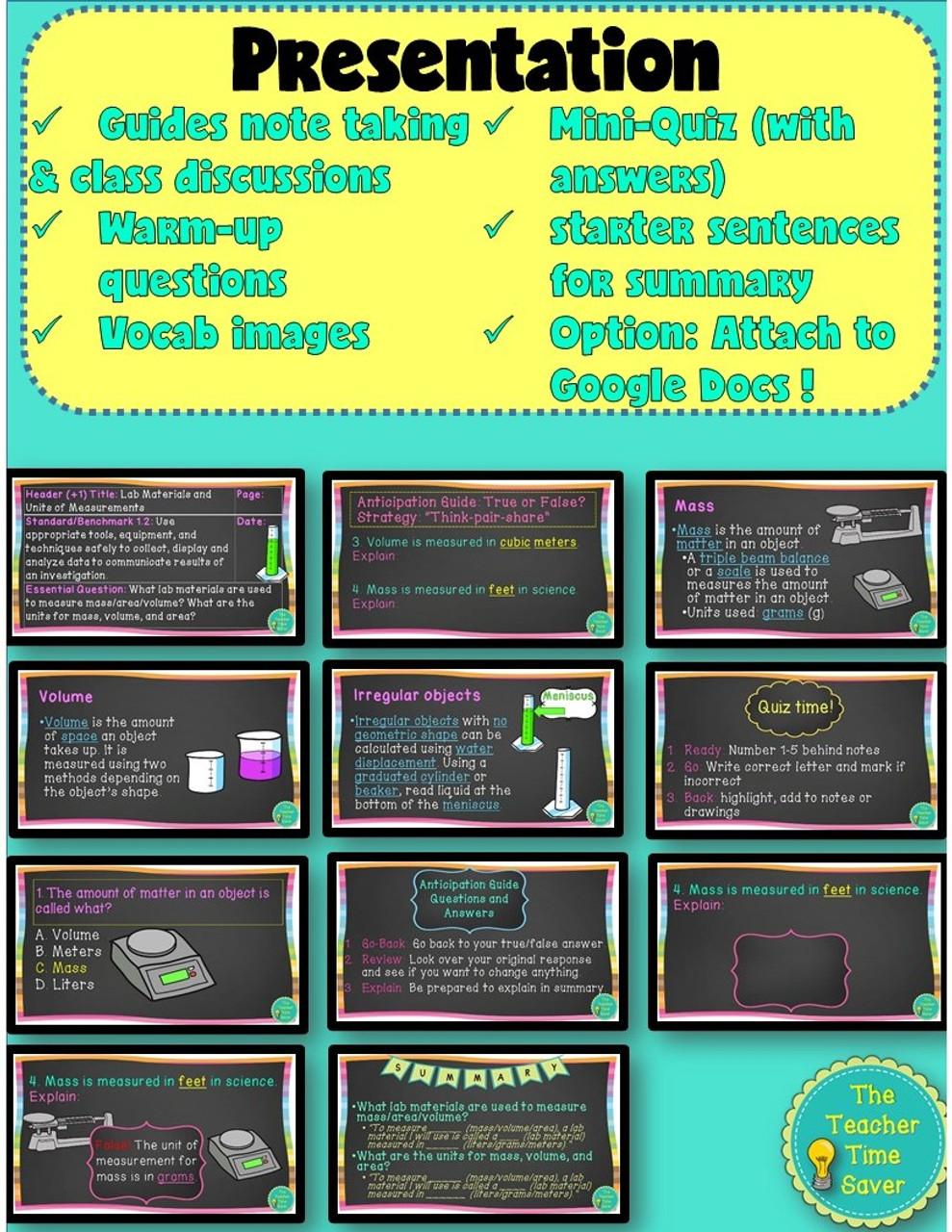 SCIENTIFIC INVESTIGATION & SCIENTIFIC METHOD DIGITAL & PRINTABLE BUNDLE