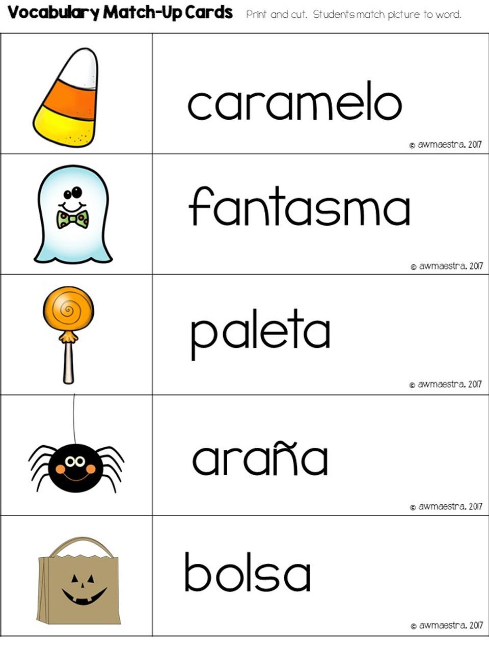 Halloween Lesson Plans & Thematic Unit Pre-K, English Spanish Bilingual