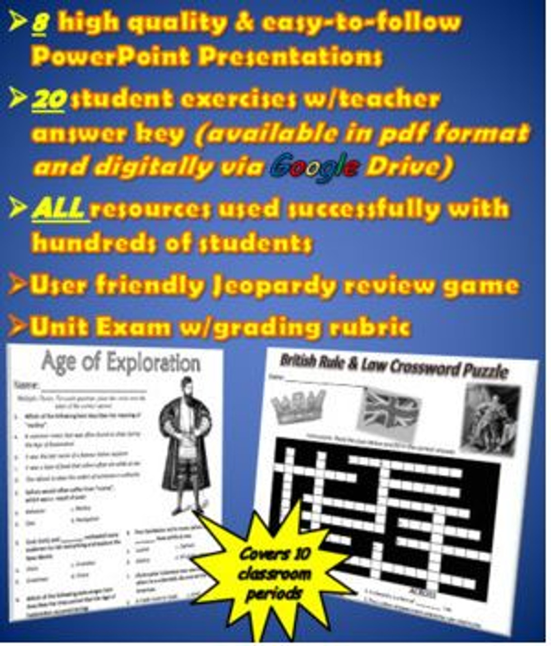 High quality resources completely ready for you to use with your students!