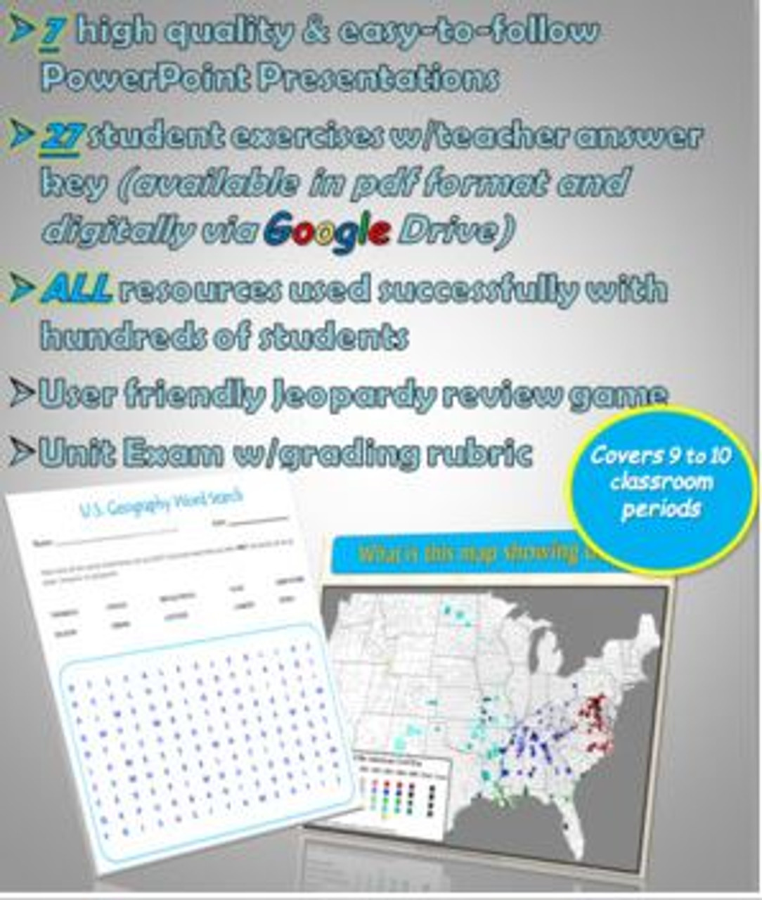 Includes numerous high quality resources completely ready for use in your classroom!