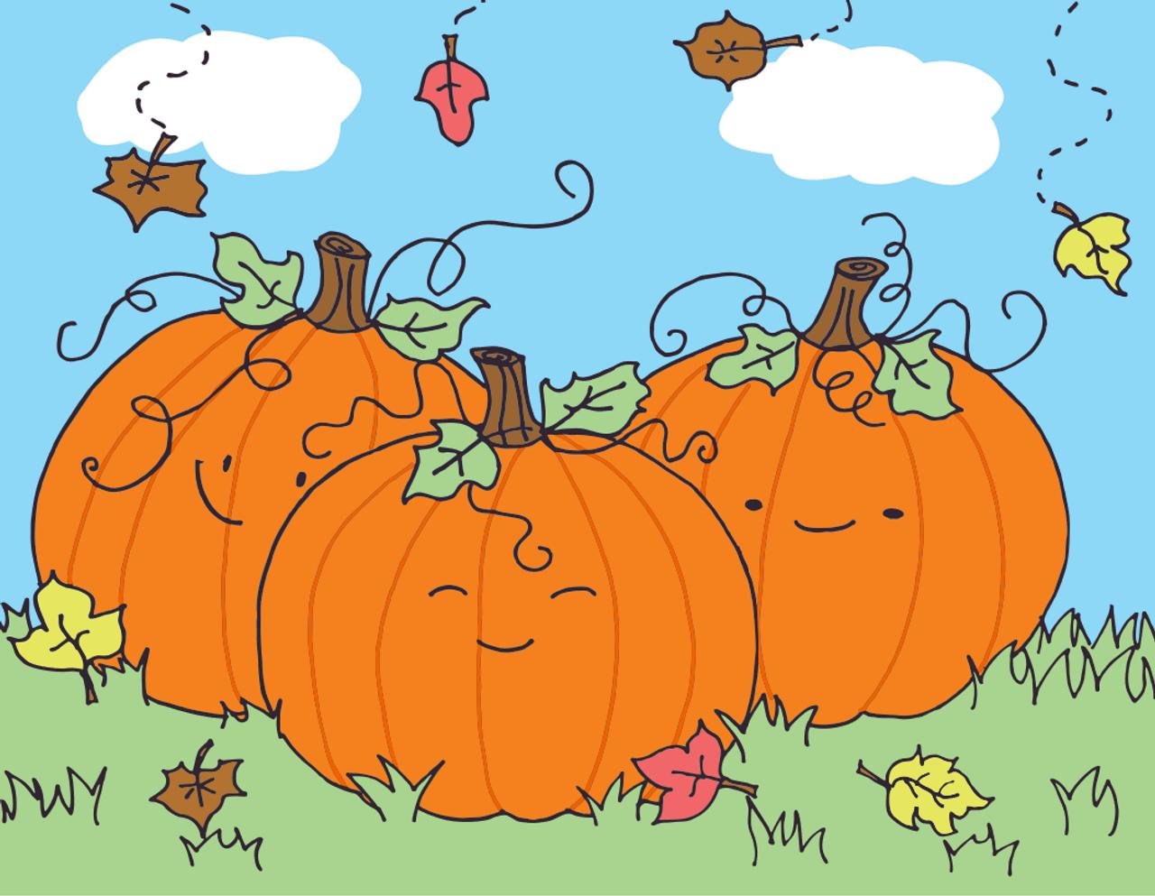 A Piece of a Whole: Fall Pumpkins