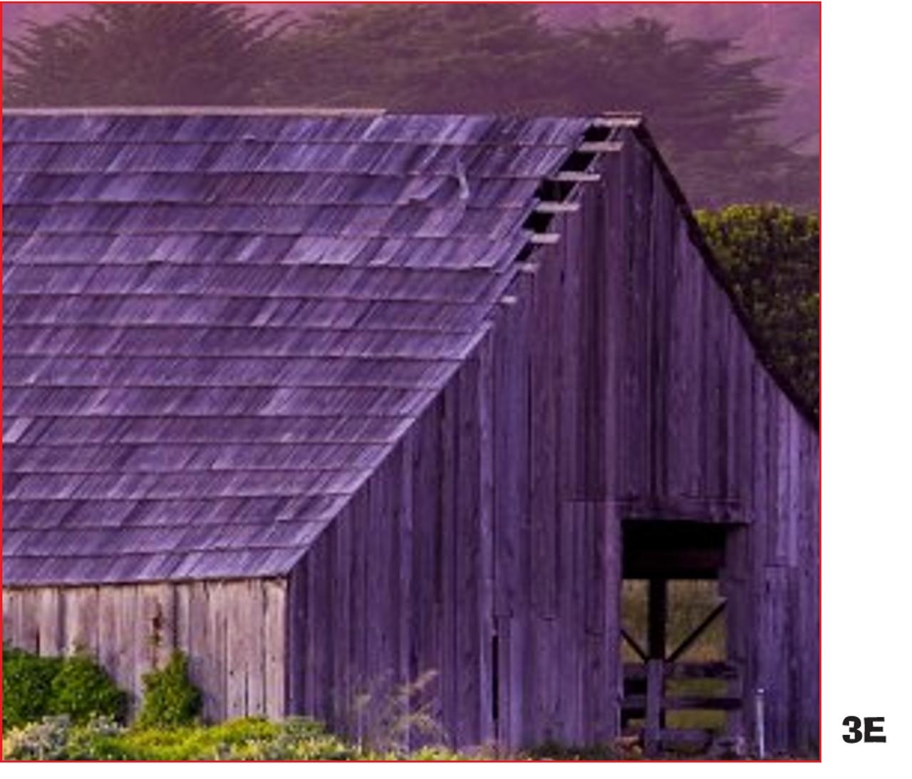A Piece of a Whole: Springtime Barn