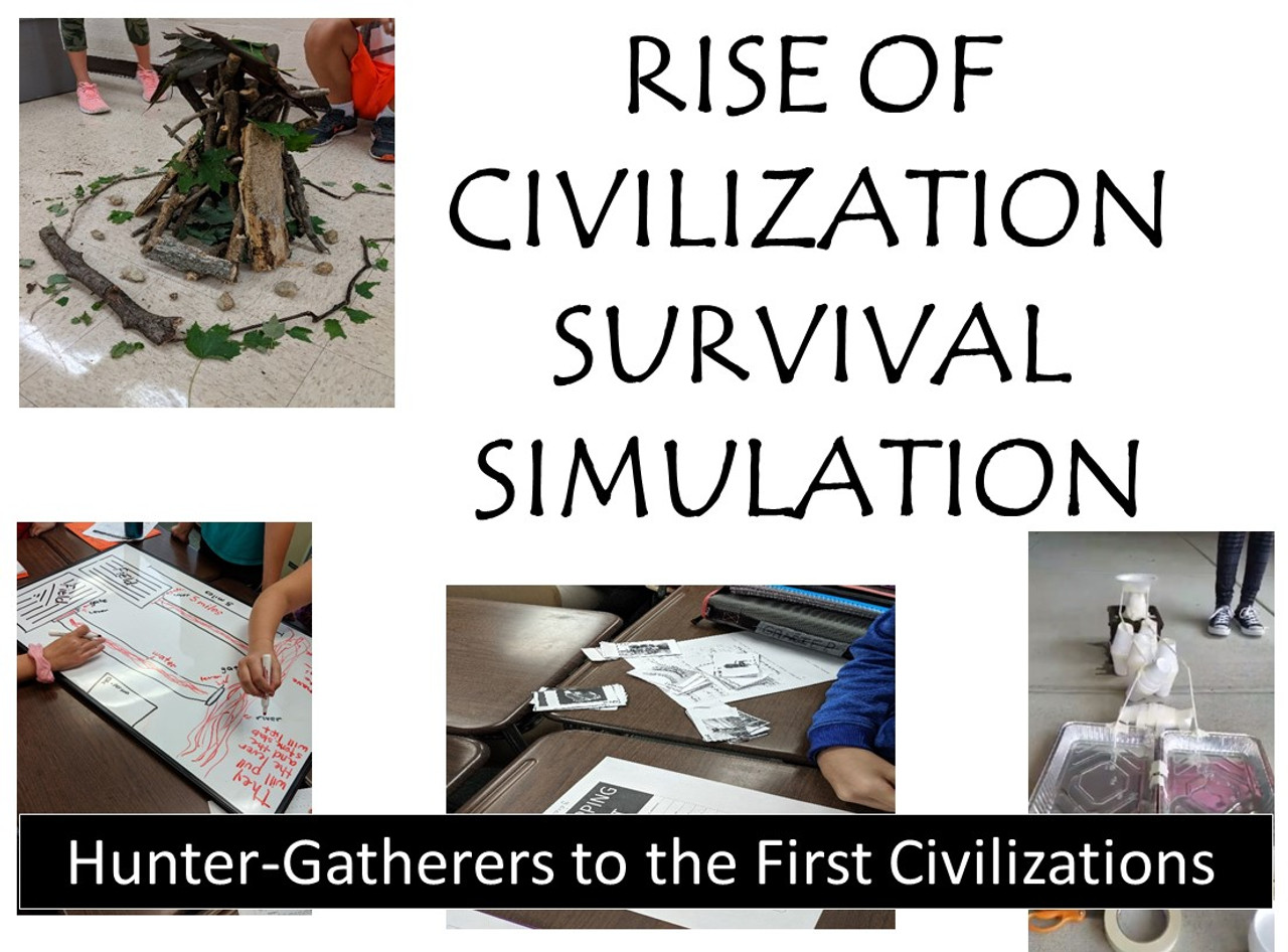 Rise of Civilization Survival Simulation - Paleolithic to Neolithic Revolution