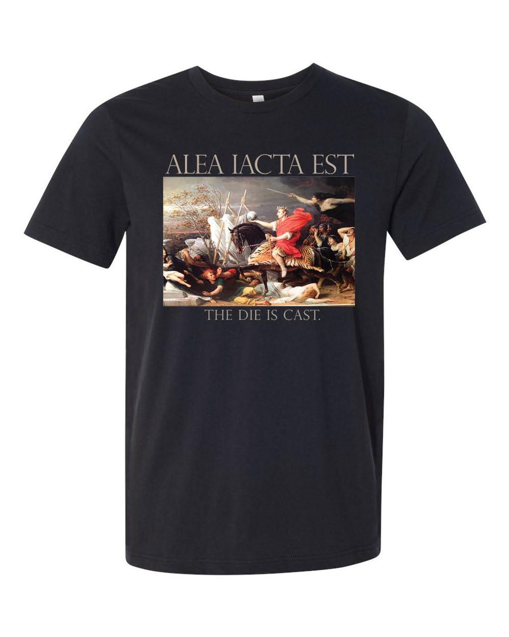 """""""Alea iacta est"""" (The die is cast.) - Julius Caesar crossing the Rubicon"""