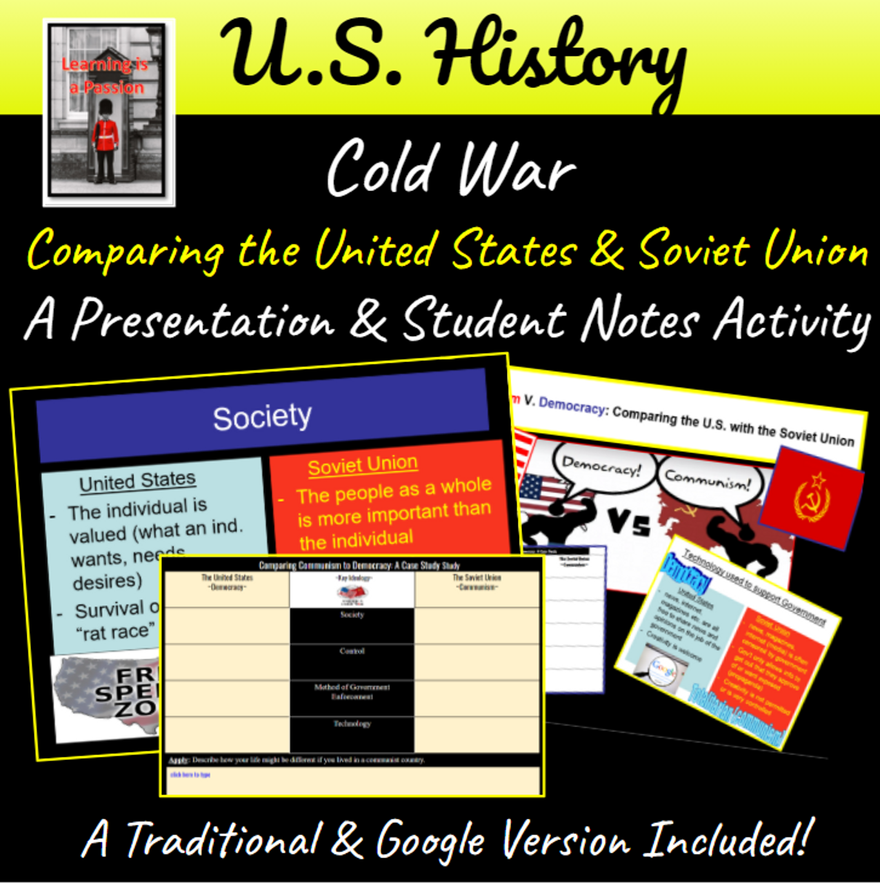Cold War: Comparing the U.S. with the Soviet Union | Distance Learning