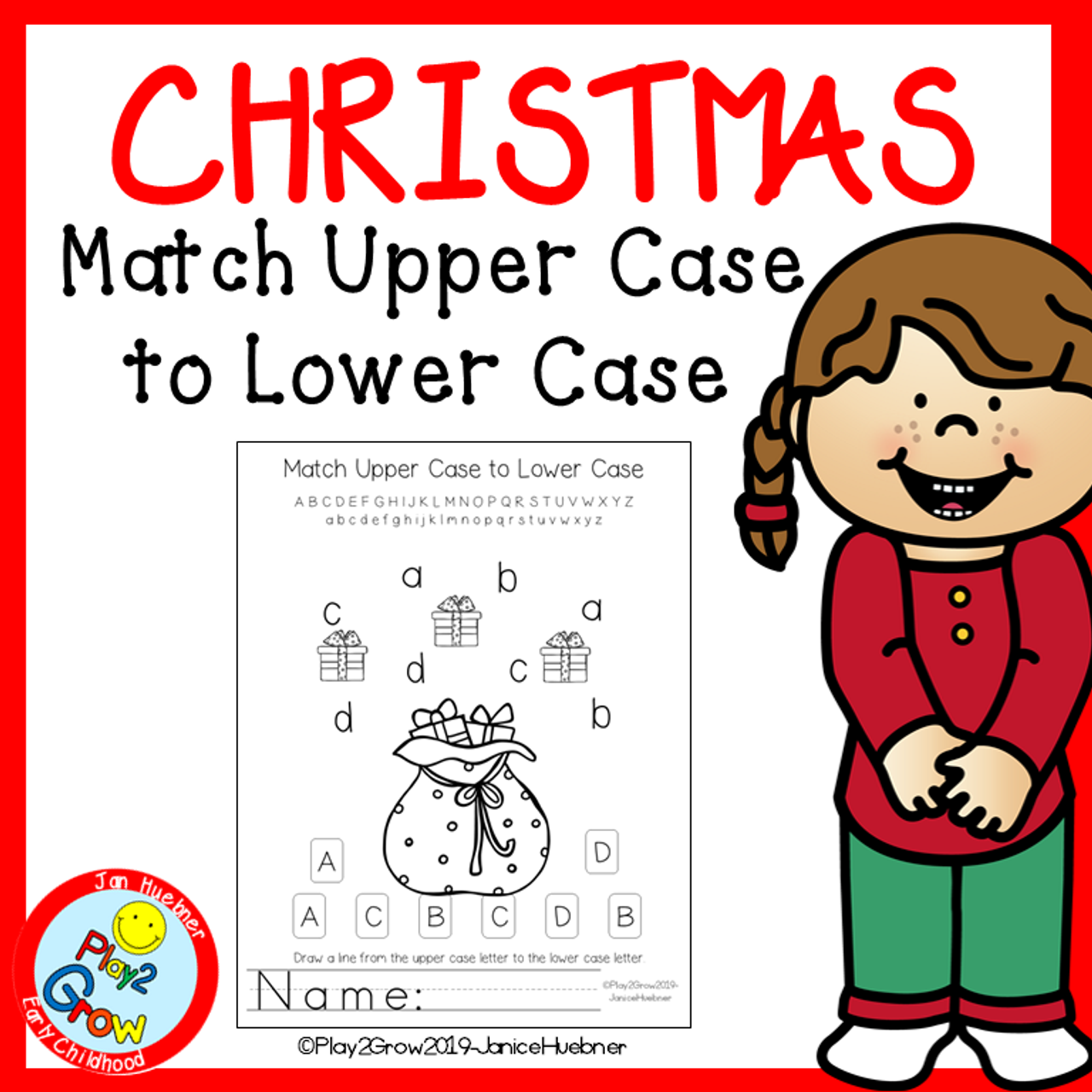 CHRISTMAS Match Upper Case to Lower Case
