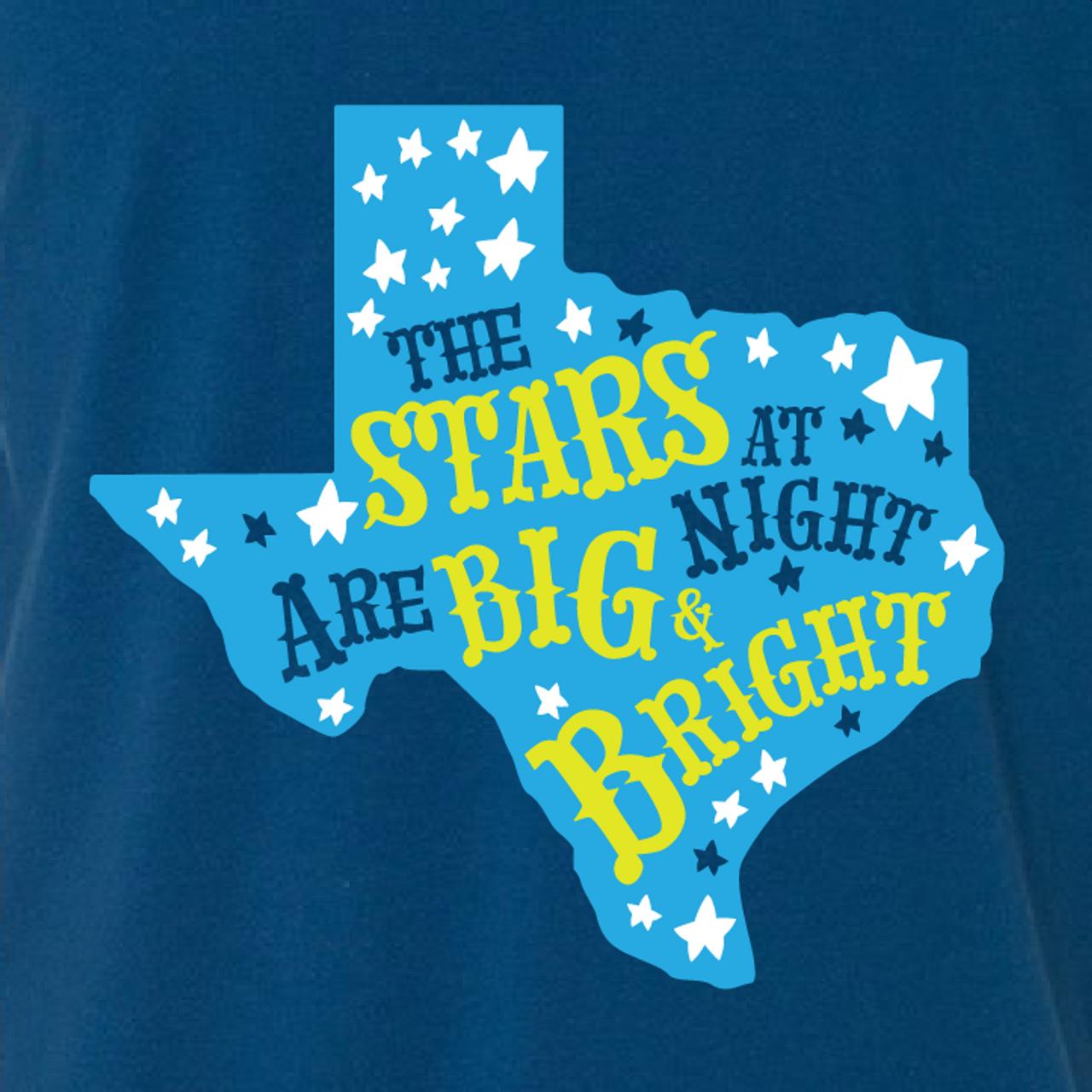 """Stars at Night are Big and Bright"""
