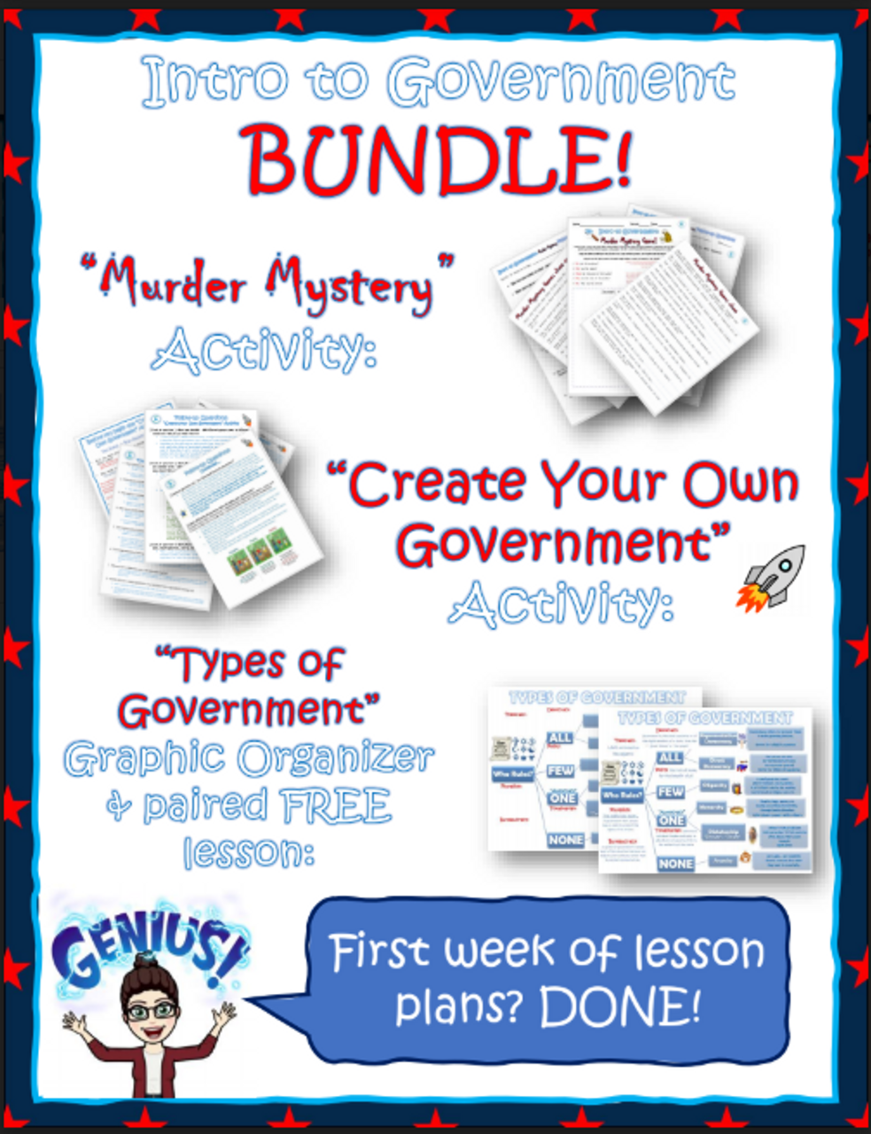 Create Your Own Government Activity: types of governments introduction