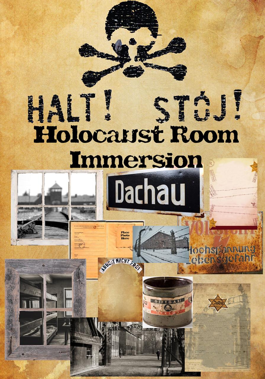 Holocaust and World War II Room Transformation