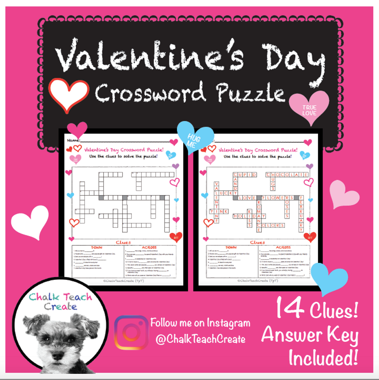 Valentine's Day Crossword Puzzle!
