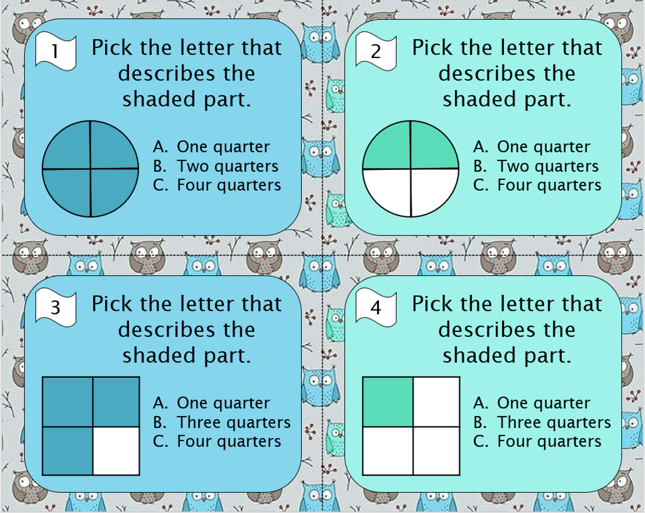 Naming Fractions