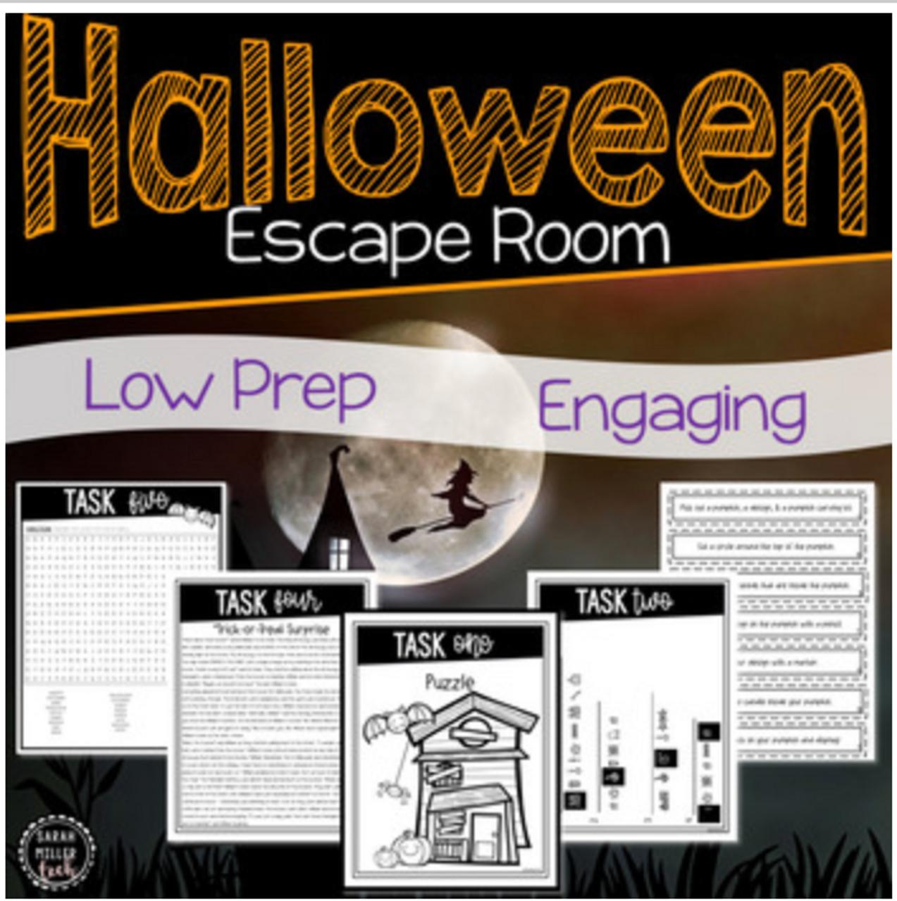 Halloween Themed Escape Room