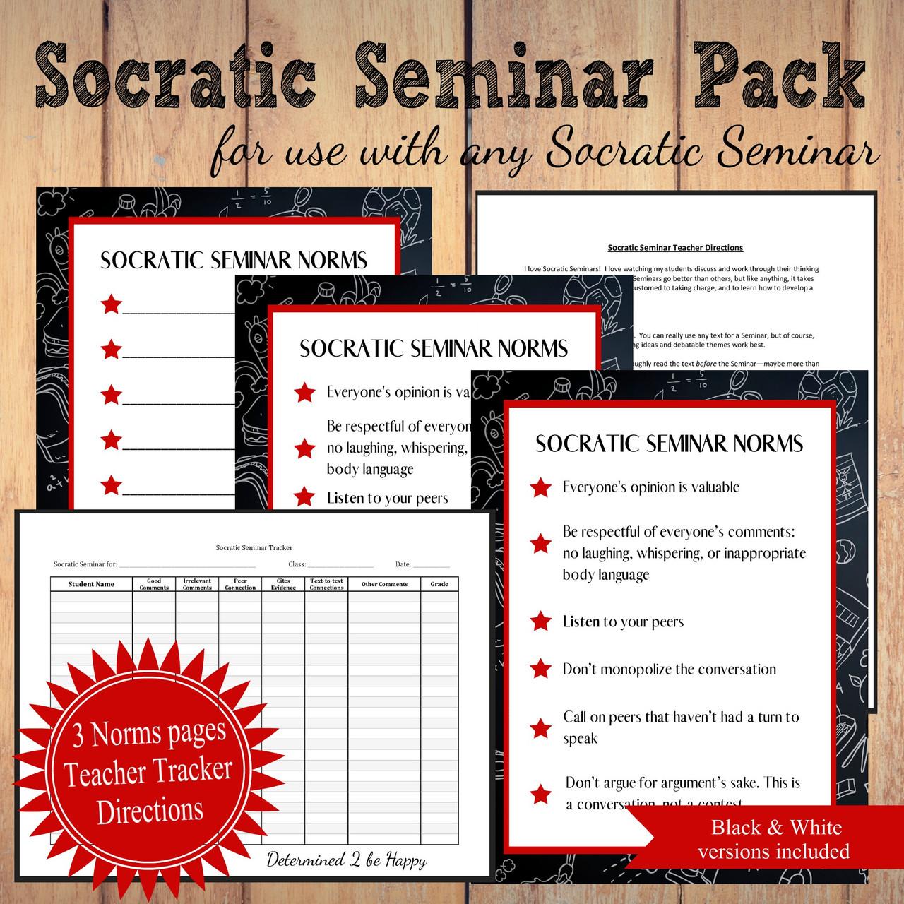 Socratic Seminar Supplement Pack