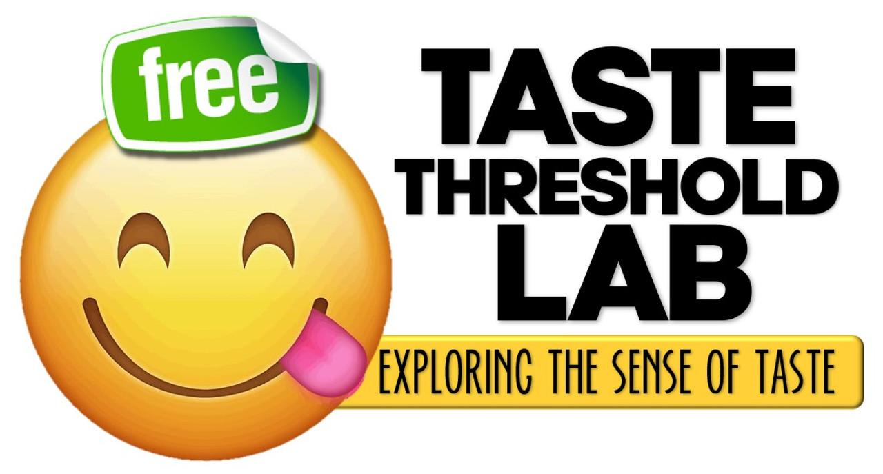 In Good Taste- Lab Activity for testing Taste Thresholds- FREE!
