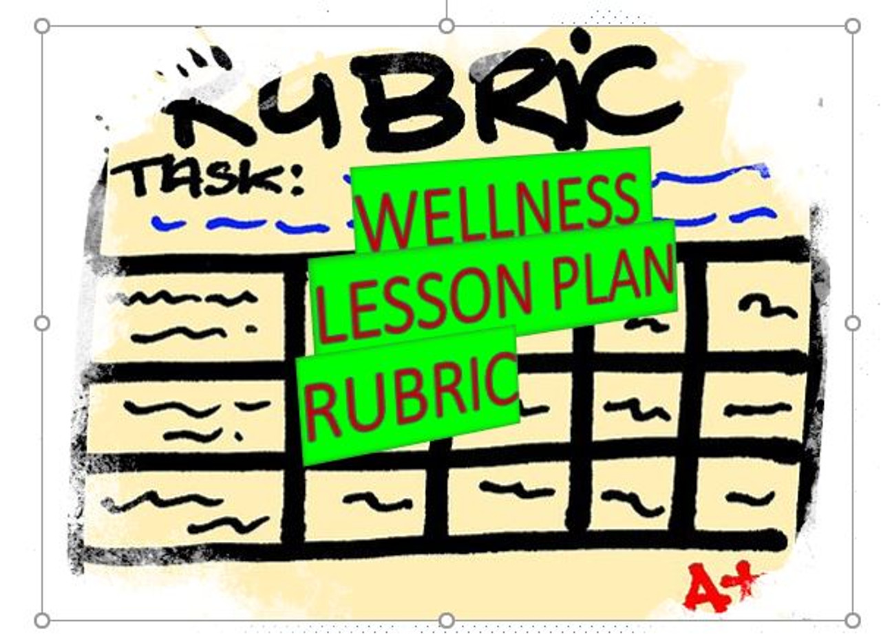 Lesson Rubric Score Sheet for Wellness Standard