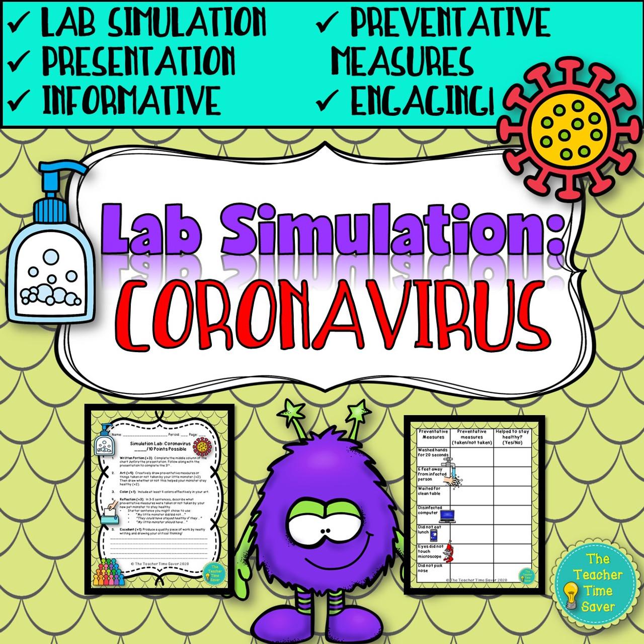 Coronavirus Activity- Lab Simulation