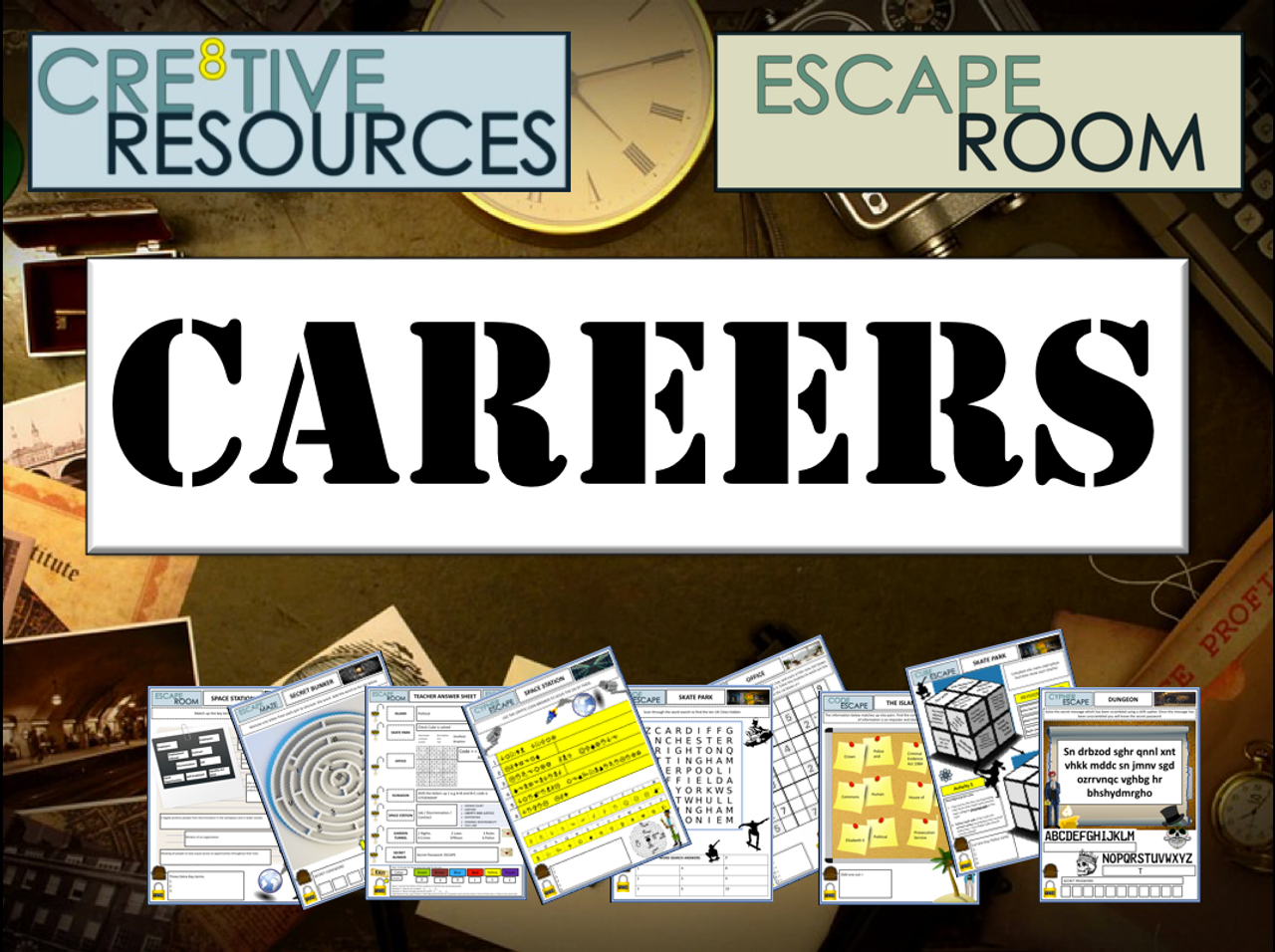 Careers Escape Room