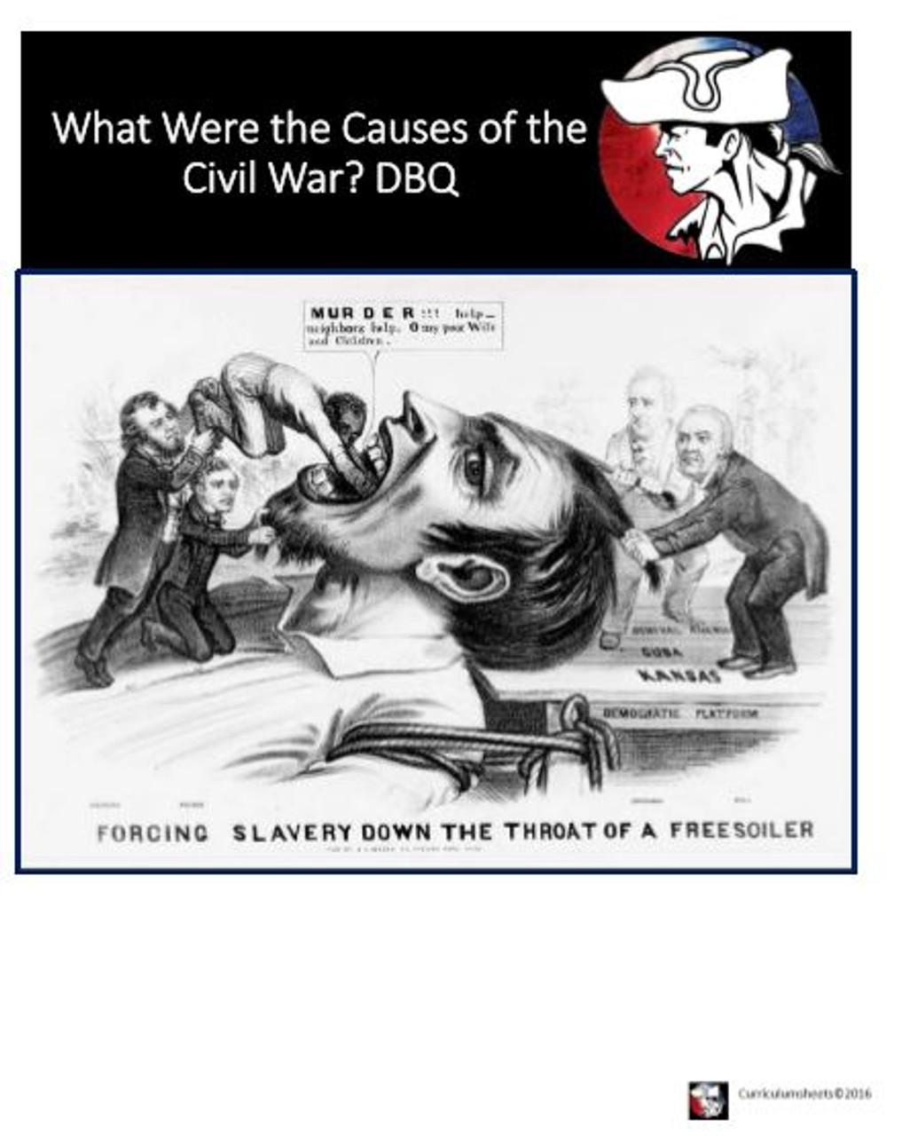 DBQ Causes of the American Civil War