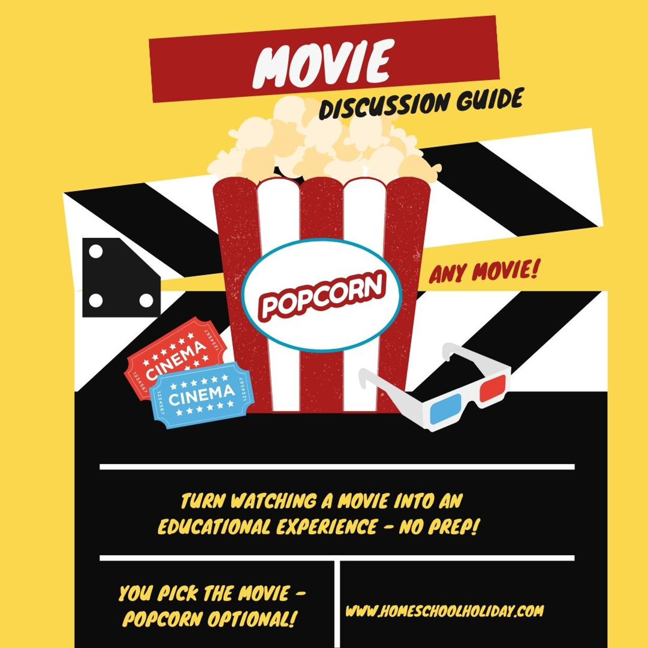 Movie Discussion Guide - FREE! (With Google Form)