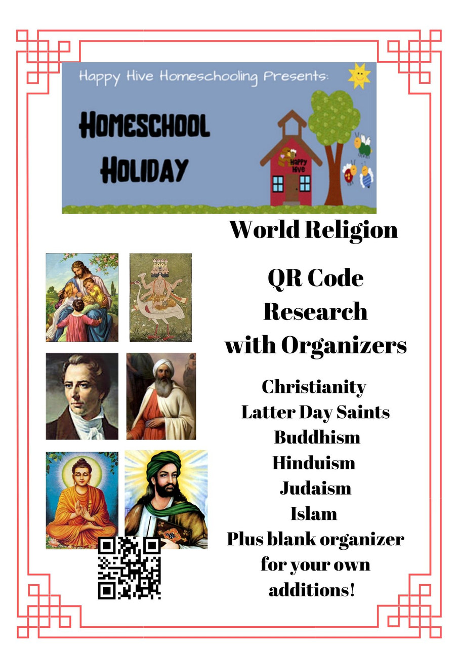 Shows list of included religions