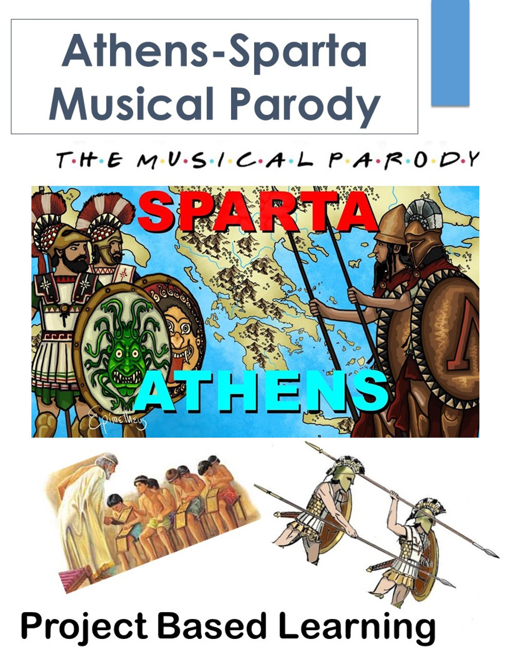 Athens and Sparta Musical Parody: Greek City-States PBL