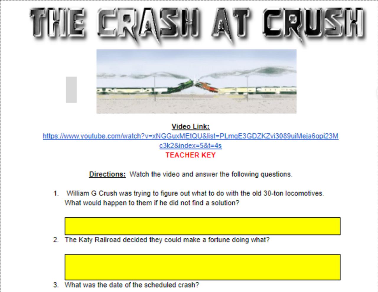 The Crash at Crush