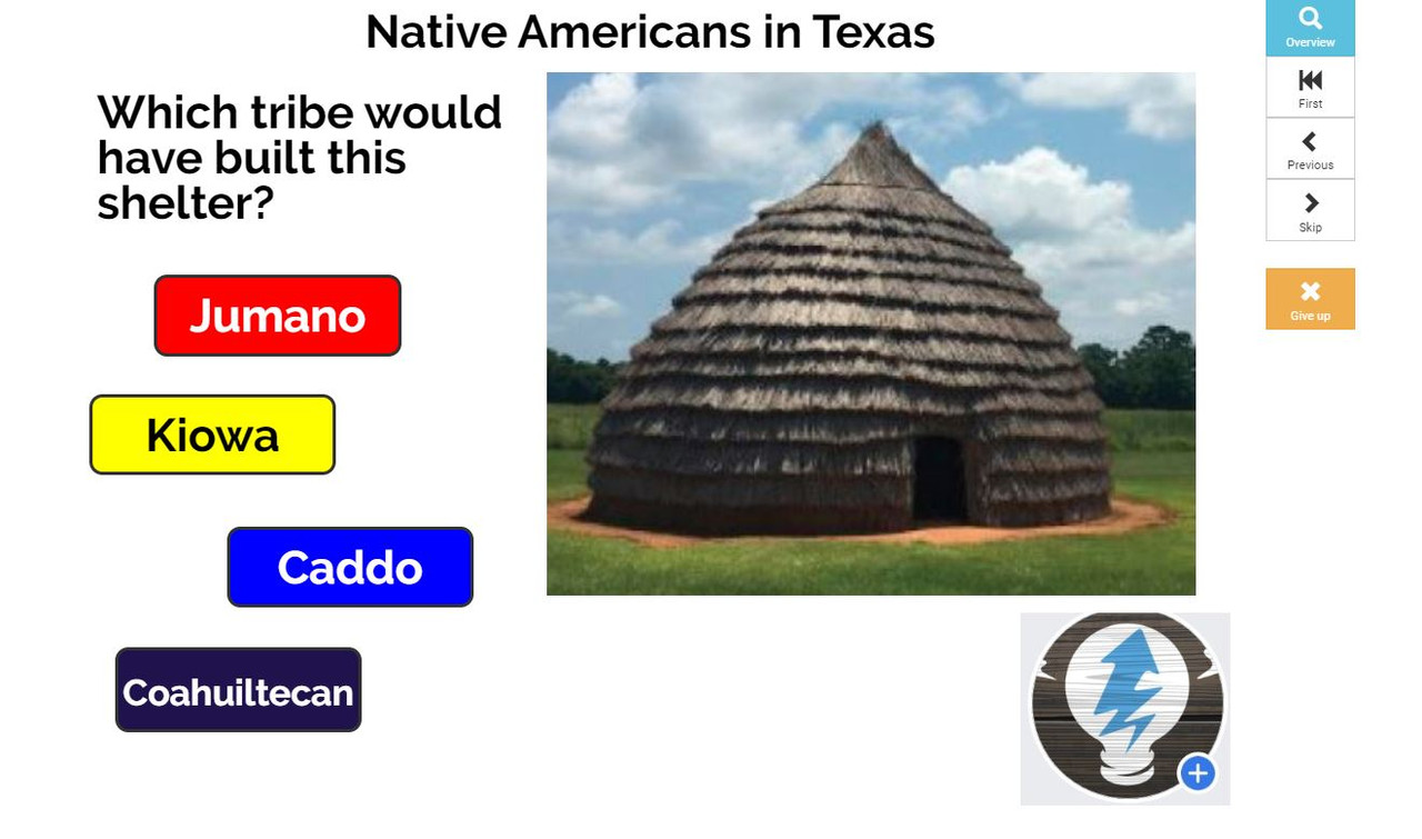 BOOM Cards - Native American Tribes in Texas