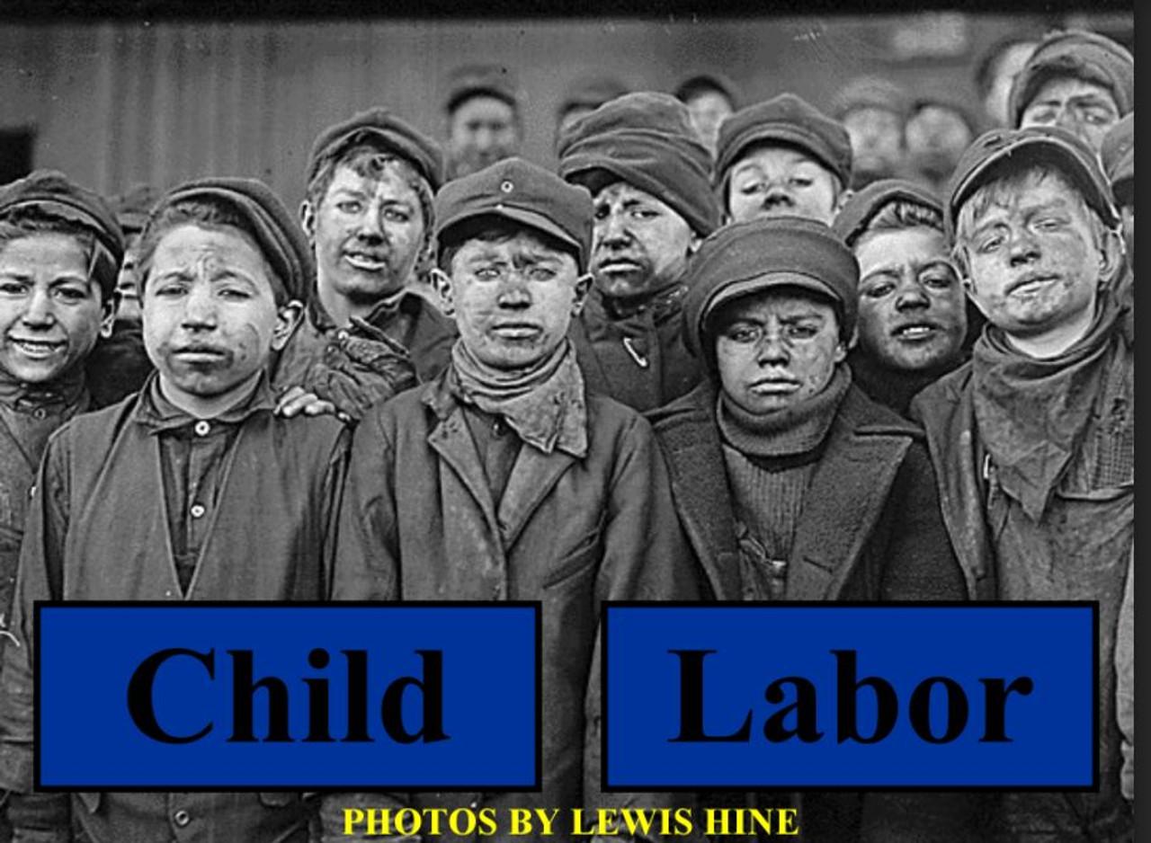 Child Labor Writing Activity