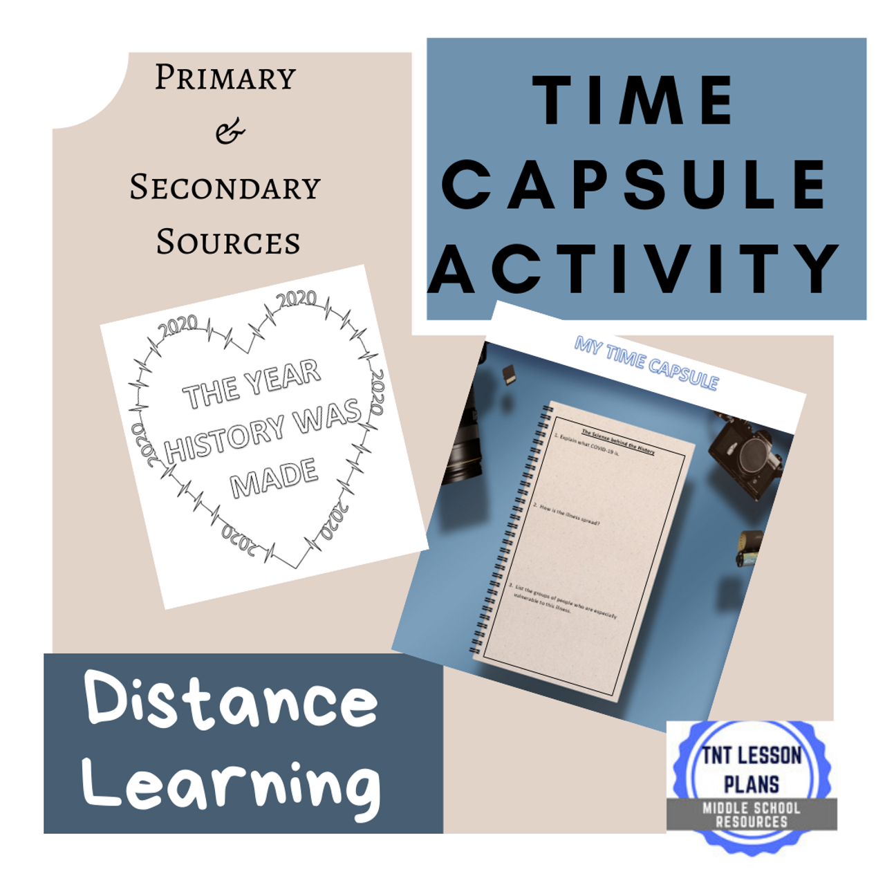 Historic Time Capsule - Primary and Secondary Sources