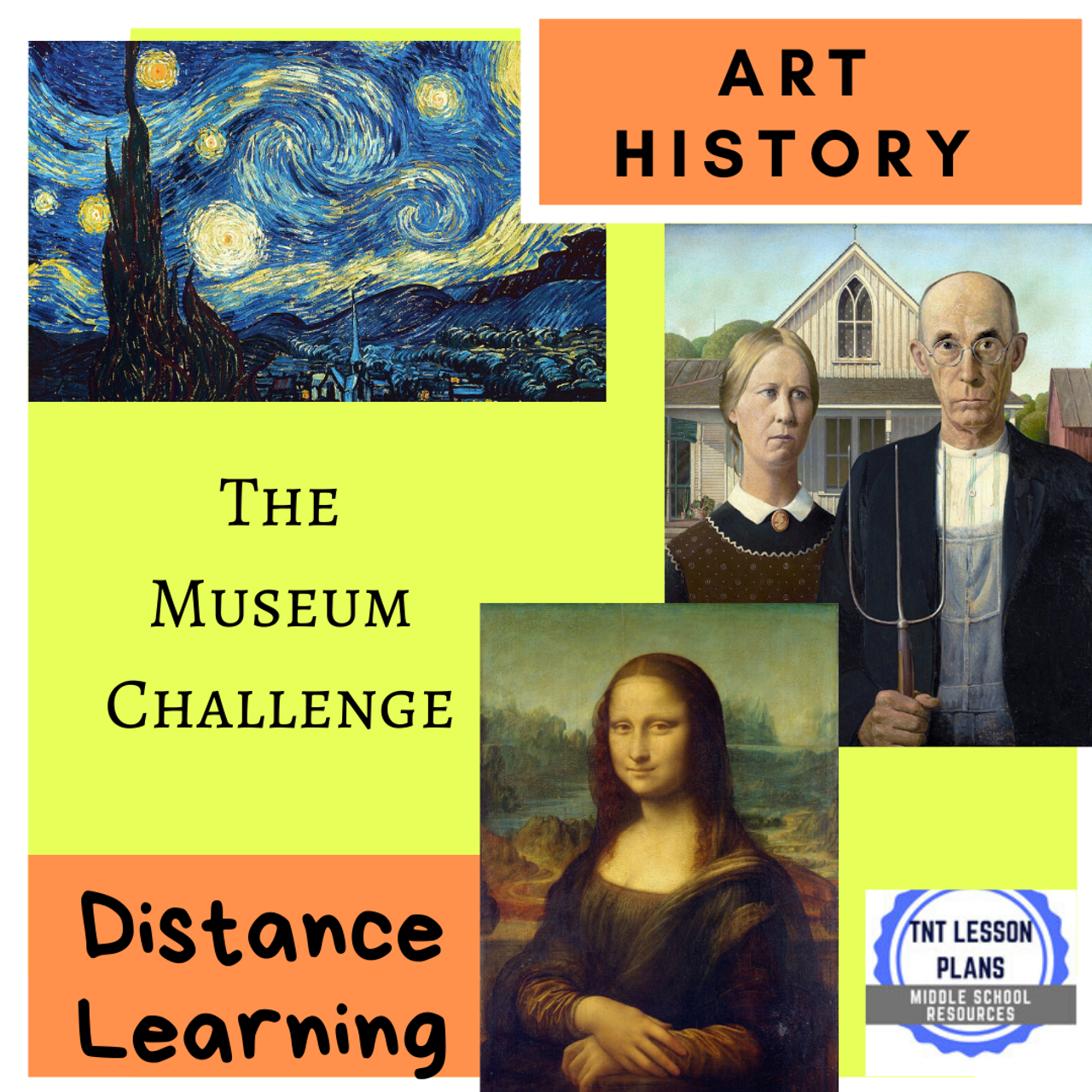 """Art History Assignment - """"The Museum Challenge"""""""