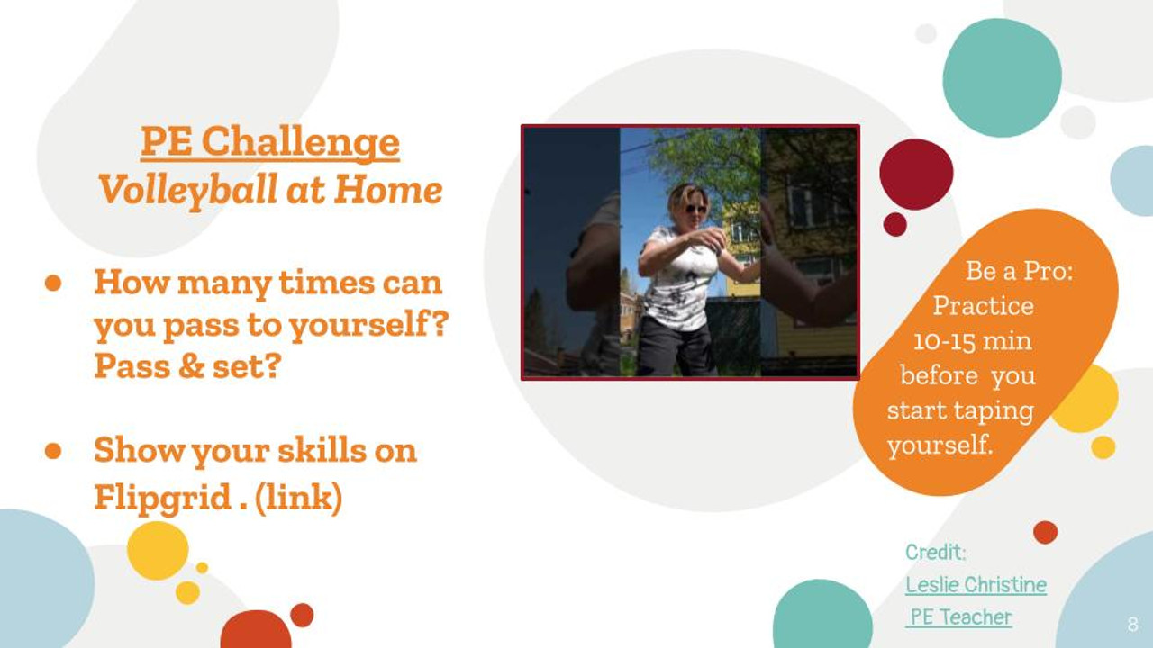 PE & Wellness Challenges 2 - Digital Learning