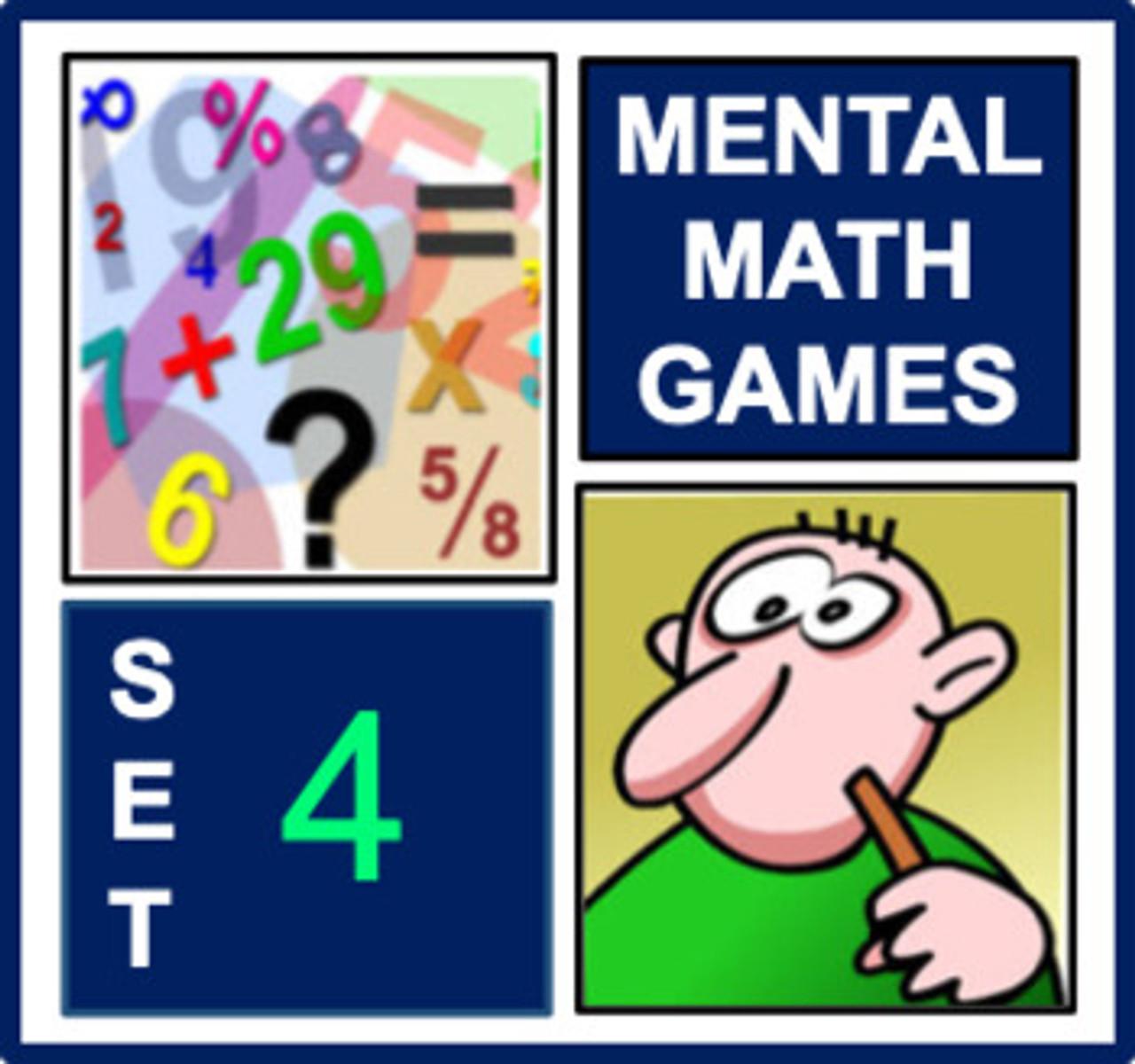 Mental Math Games 4
