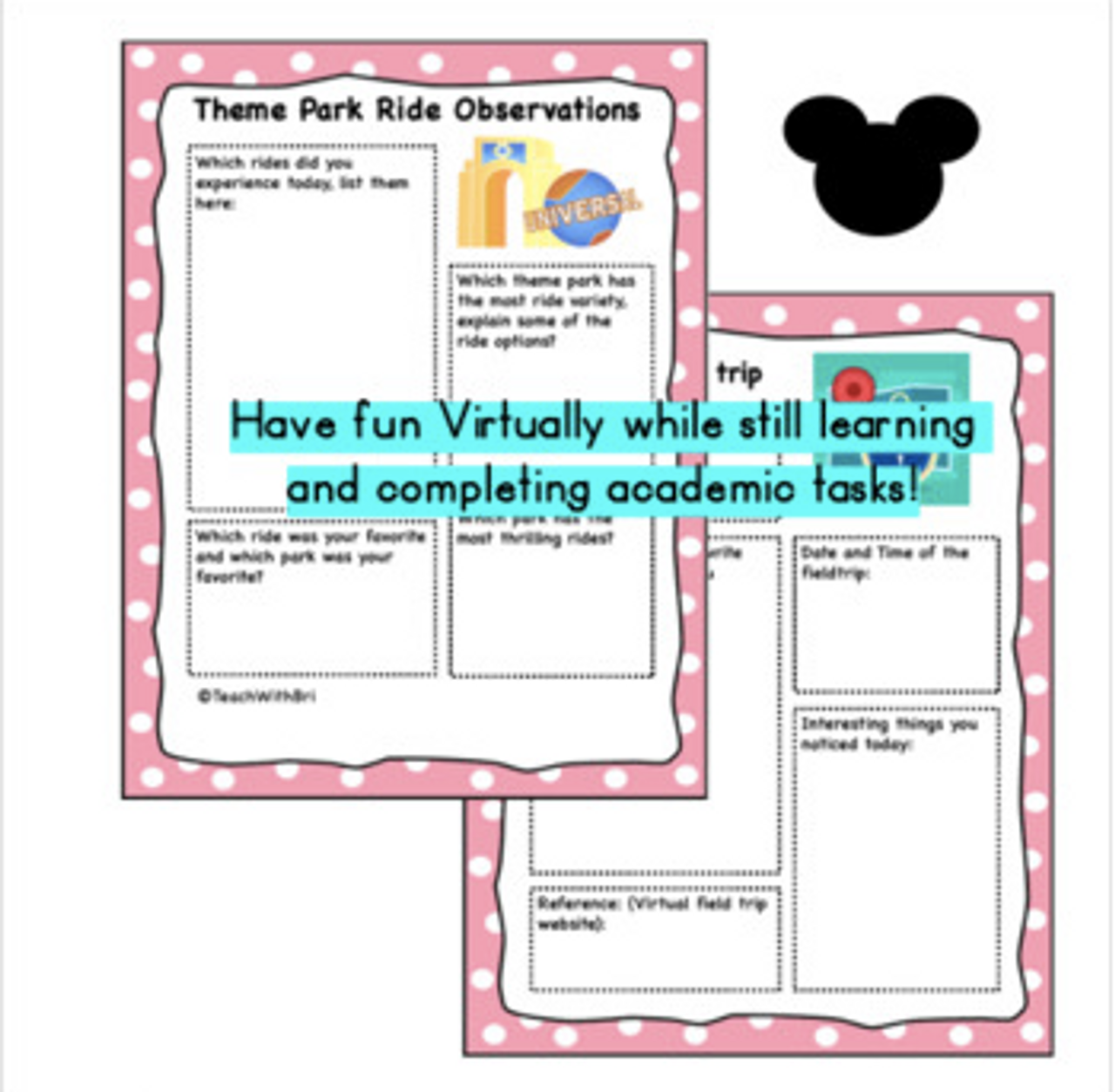 Virtual Field Trip to the Amusement Park- Ride the Rides, Explore, and Learn