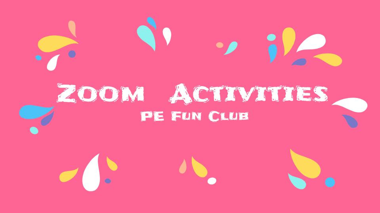 Zoom Activities - Get students moving! Great for classroom or PE teachers.