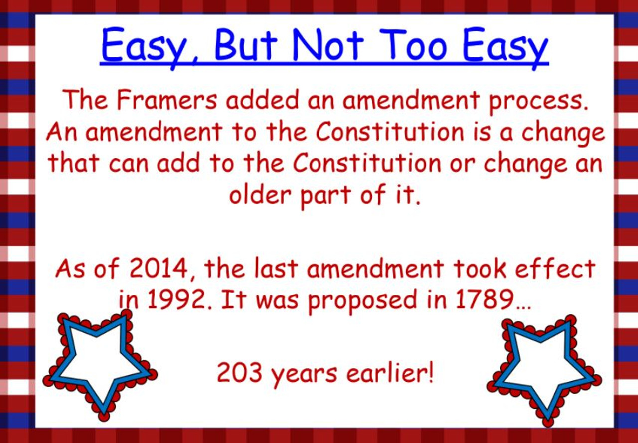 Constitution Day Power Point and Lesson - FREE