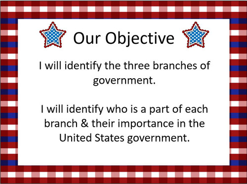 United States Government: The Three Branches & Their Roles