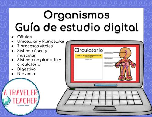 Organismos Guía de estudio digital