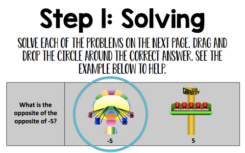 5th Grade Math Create a Picture: Digital Online Learning Activity
